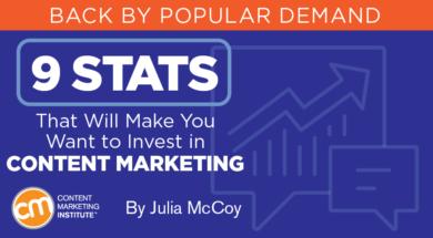 9 مرحله ایی که تاثیر بازاریابی محتوا را نشان می دهند
