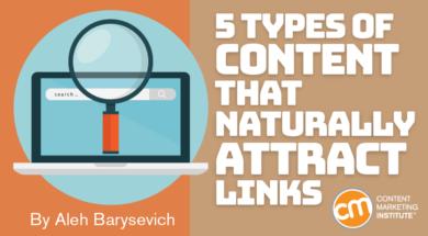 5 نوع محتوایی که باعث ایجاد لینک به سایت شما یا بک لینک می شوند
