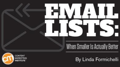 چرا کوچک تر بودن لیست ایمیل مخاطبین ، بهتر است؟