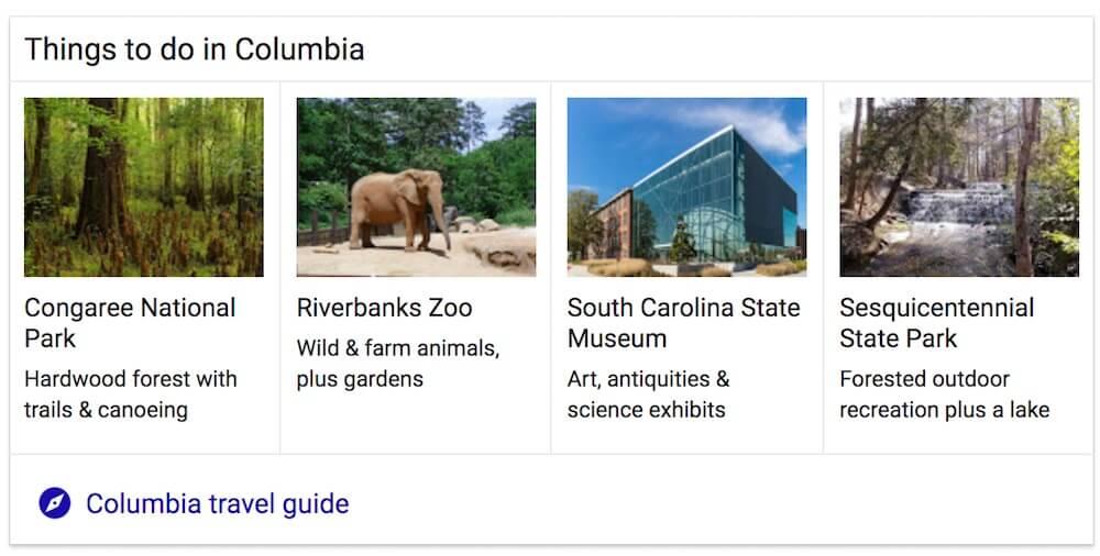 صفحه نتایج موتور جستجو